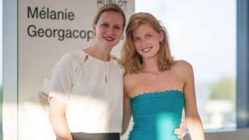 A talk with Melanie Georgacopoulos…