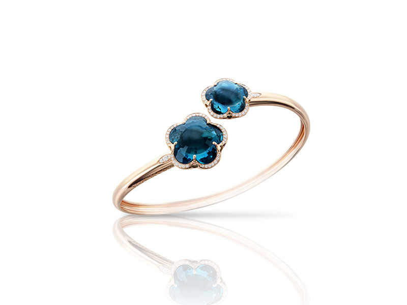 Pasquale Bruni From Bon Ton collection - Blue London Topaz bracelet