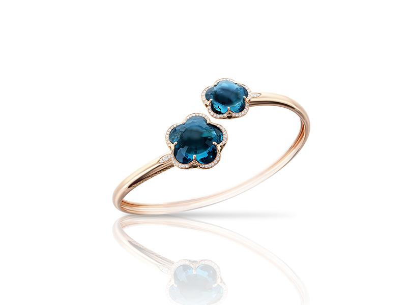 Pasquale Bruni From Bon Ton collection - Blue London Topaz bracelet