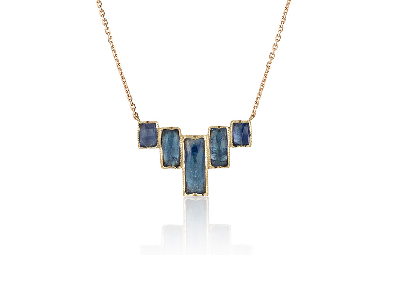 Brooke Gregson Ziggurat tanzanite necklace