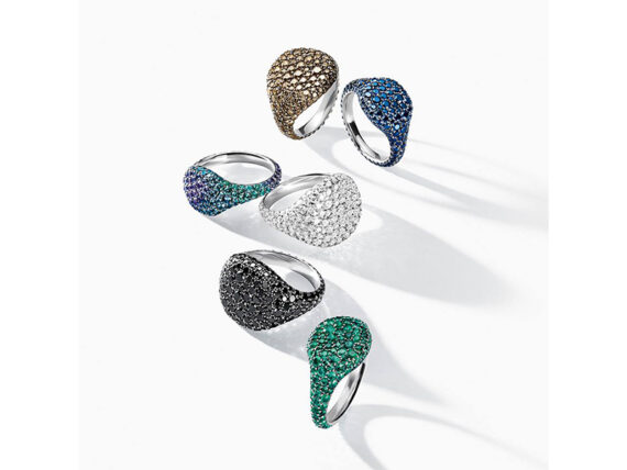 David Yurman Pinky rings