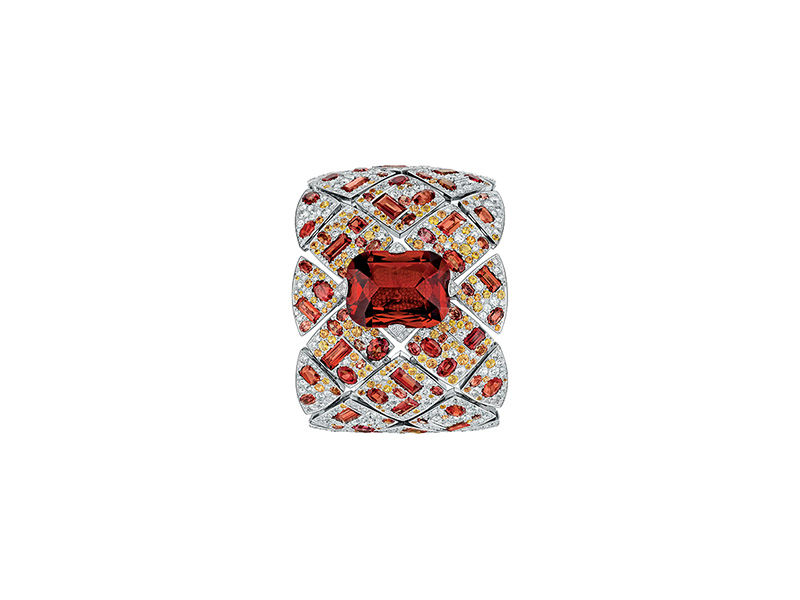 "Chanel ""Les Eternelles de Chanel"" Signature Garnet secret watch"