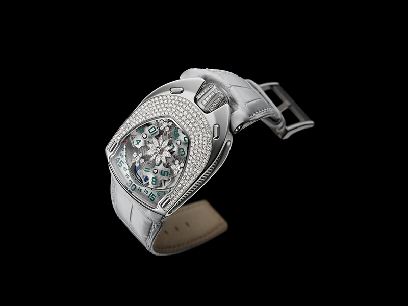 "Urwerk UR-106 ""Lotus Flower Power"""