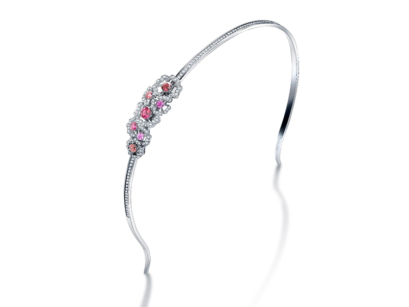 Garrard Headband mounted on white gold