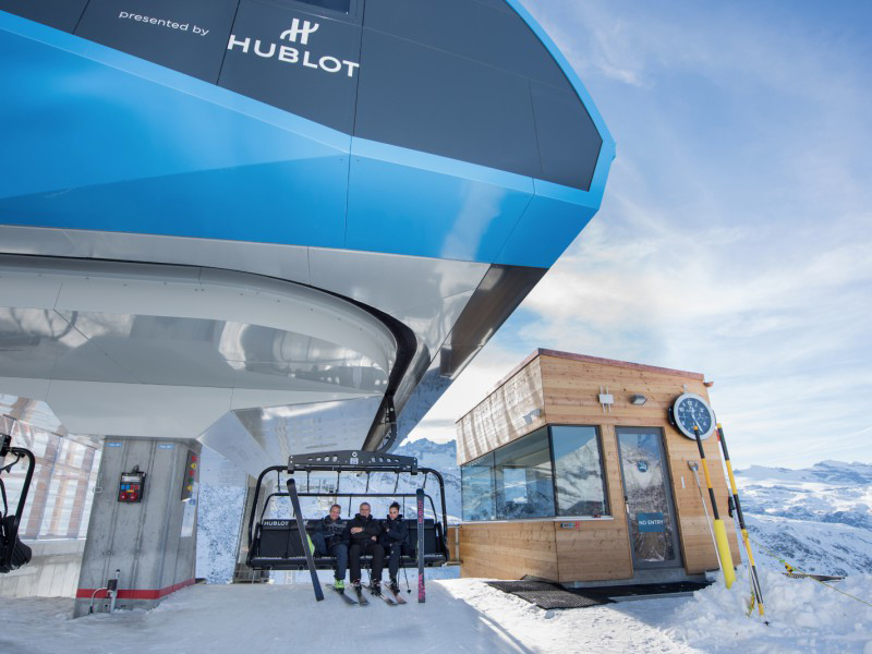 Hublot Hublot Express in Zermatt