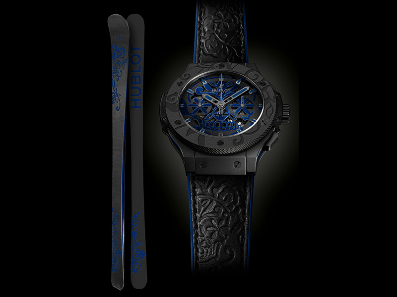 Hublot Big Bang Sugar Skull Cobalt
