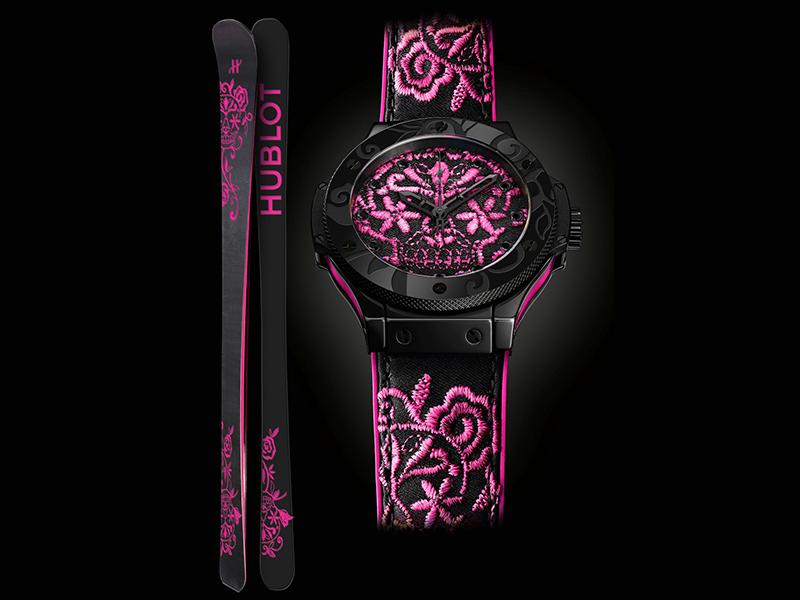 Hublot Big Bang Sugar Skull Hot Pink