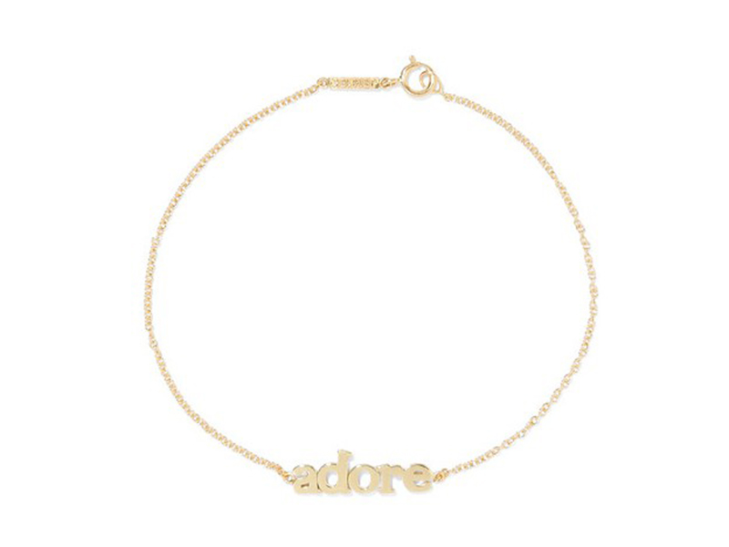 Jennifer Meyer Adore bracelet mounted on gold ~ 556 Euros