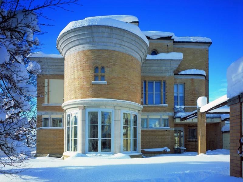 La Villa Turque house snow pitcure