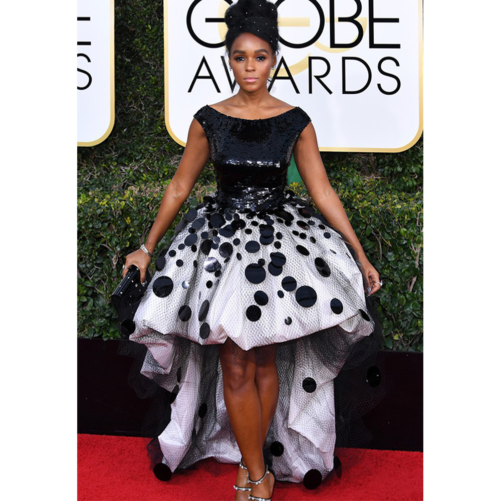 Forevermark Janelle Monáe wore Forevermark diamond cuff earrings