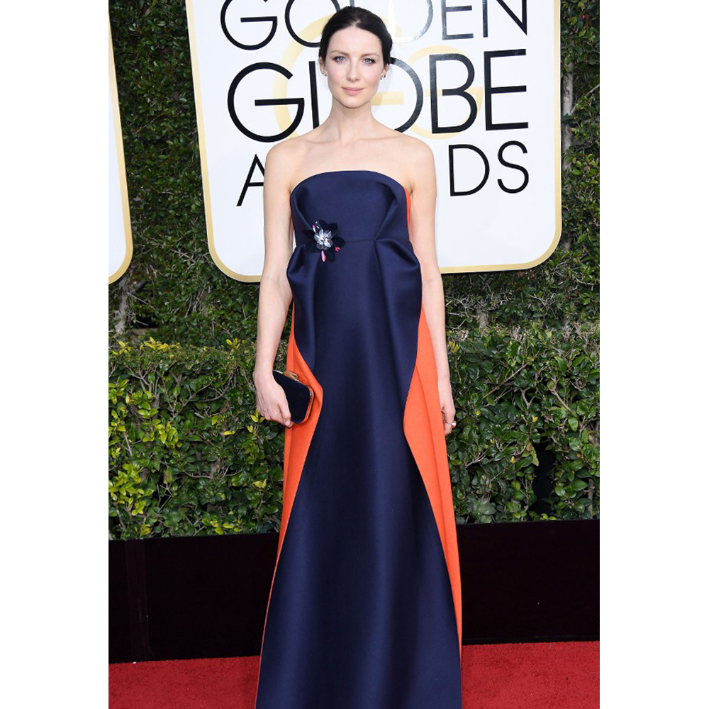 Neil Lane Caitriona Balfe wore Diamond and Platinum Studs