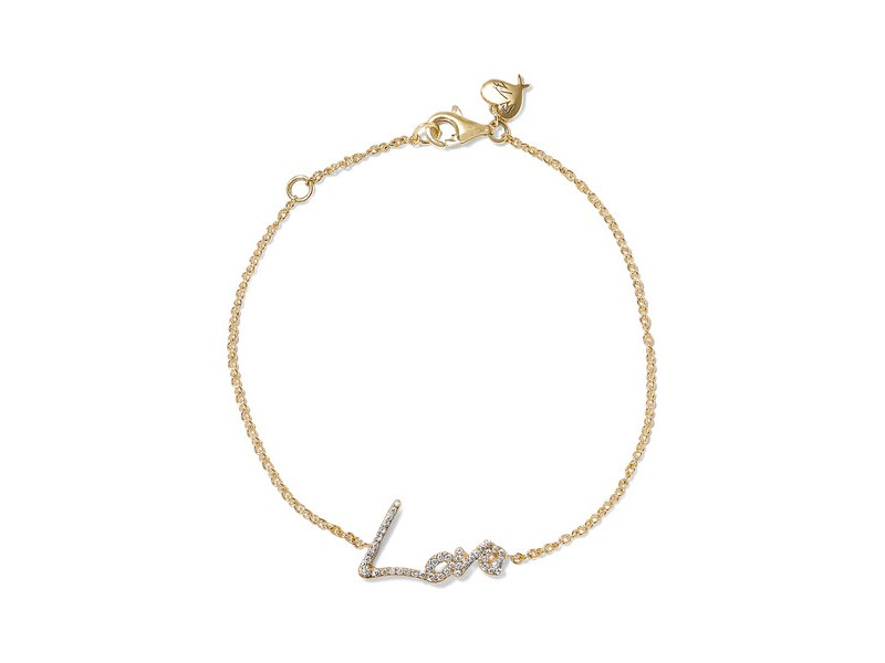 Stephen Webster + Tracey emin love diamond bracelet mounted on gold ~ 1'456 Euros