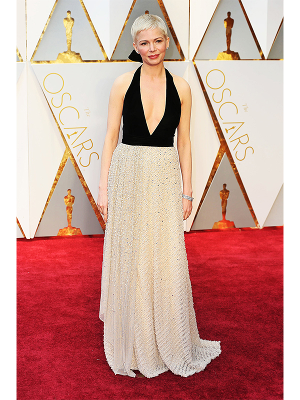Louis Vuitton Michelle Williams wore Louis Vuitton High Jewelry
