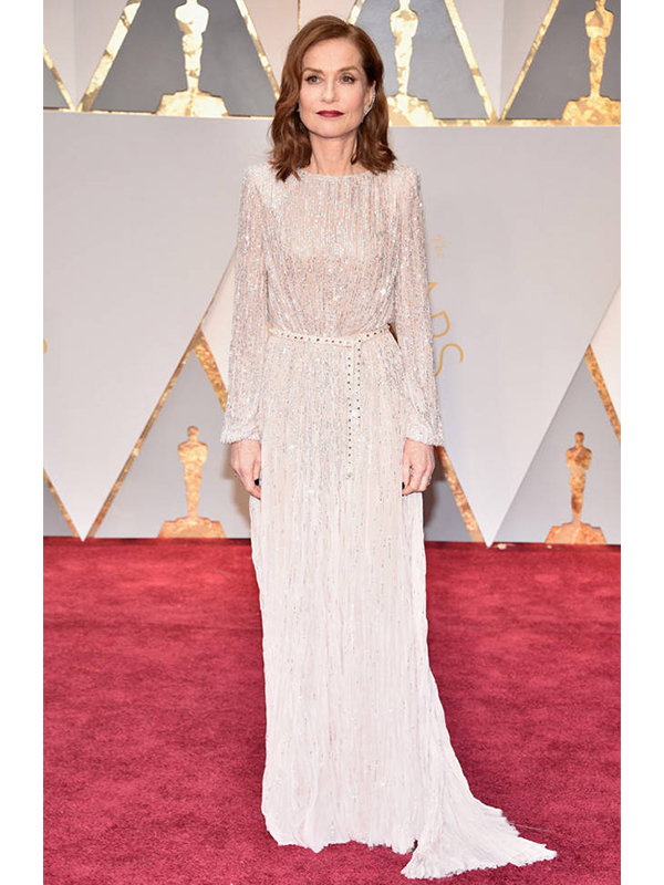 Repossi Isabelle Huppert wore a Lateral Diamond 18ct Earring and Pink Diamond rings