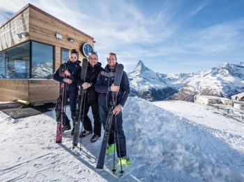 A trio talk between the AK SKIS founders and Ricardo Guadalupe, CEO of HUBLOT