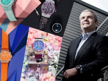 5 questions to Ricardo Guadalupe, CEO of HUBLOT about his vision of women in the watch industry