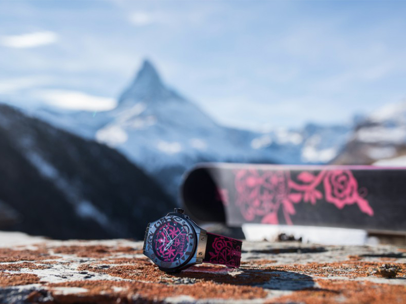 Hublot Big Bang Sugar Skull Hot Pink