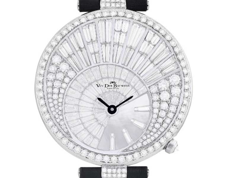 Van Der Bauwede Genève Diamond rain watch