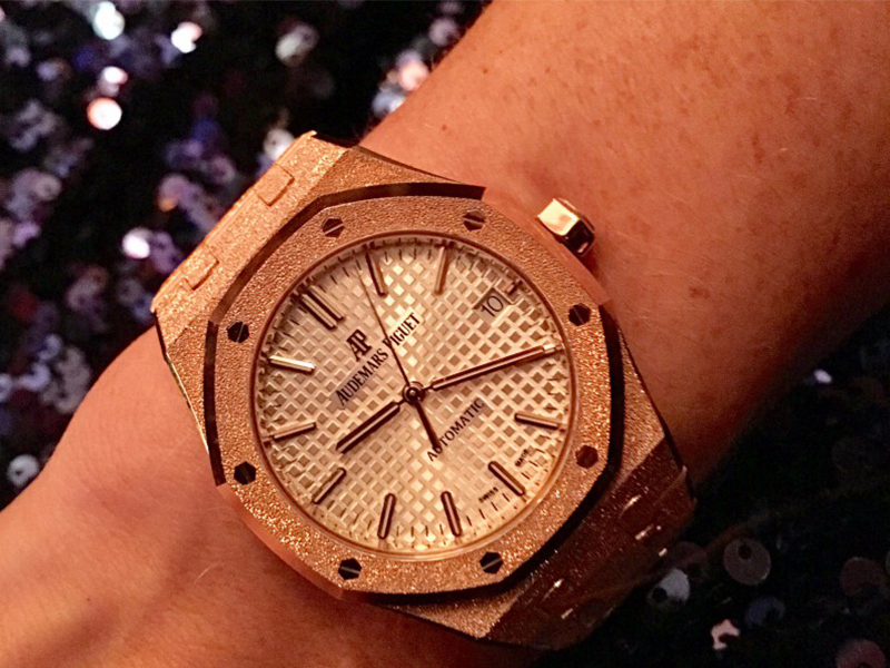 Audemars Piguet The Royal Oak Frosted Gold