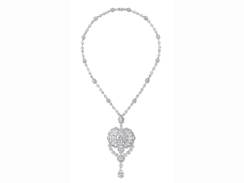 graff necklace diamonds
