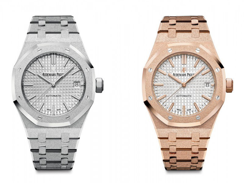 Audemars Piguet White and rose gold version