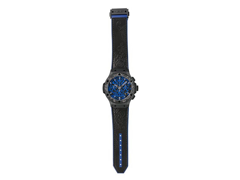 Hublot Big Bang Sugar Skull Blue Cobalt