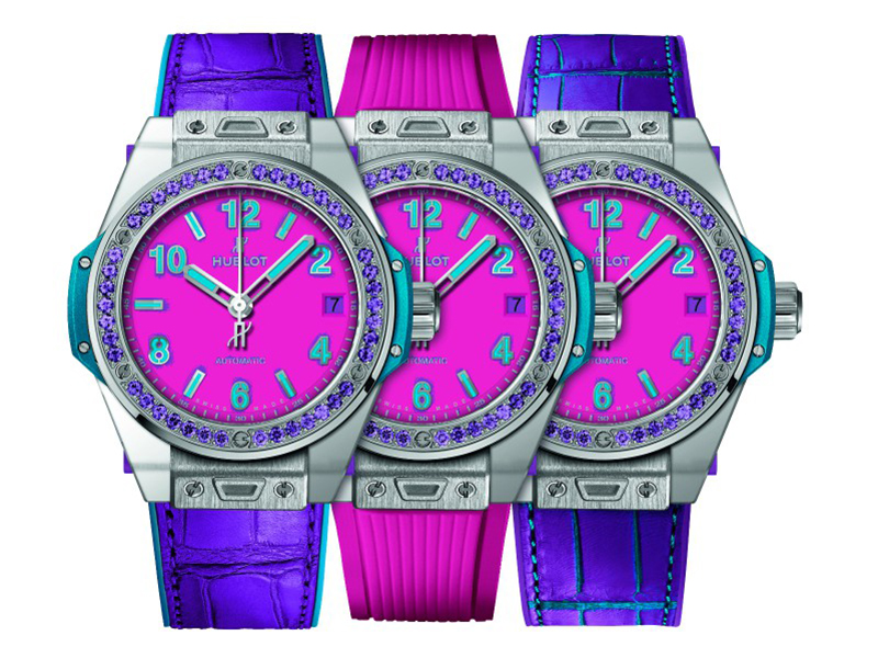 "Hublot Big Bang Pop Art ""One-Click"""