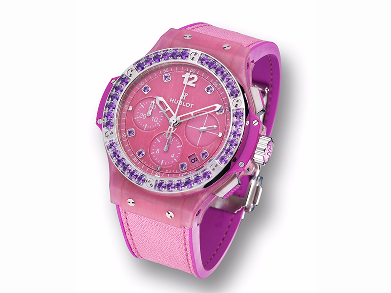 Hublot Big Bang Tutti Frutti Linen - Purple