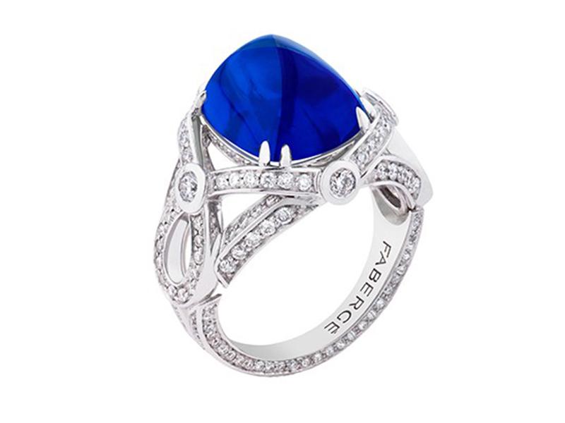 Fabergé Devotion sapphire ring