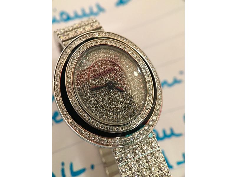 Cartier Hypnose diamonds watch
