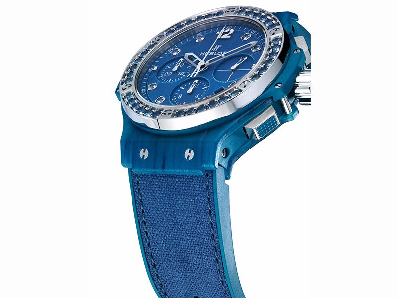 Hublot Big Bang Tutti Frutti Linen - Ocean Blue