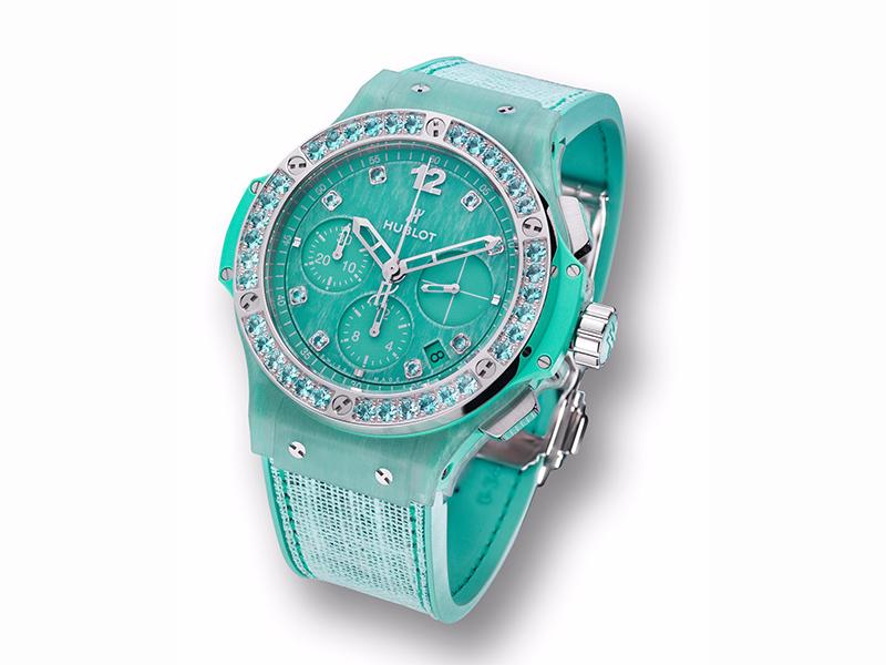 Hublot Big Bang Tutti Frutti Linen - Turquoise