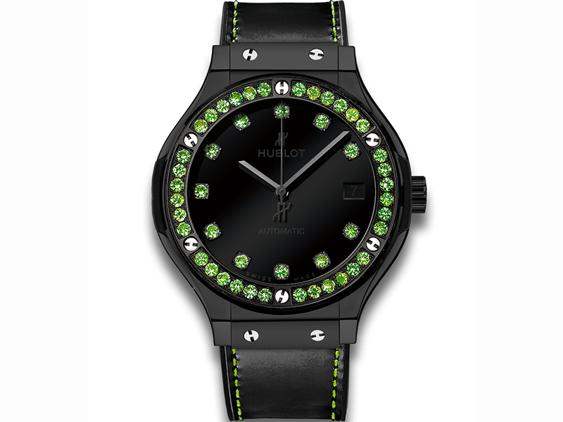 Hublot Classic Fusion Shiny set with Tsavorites