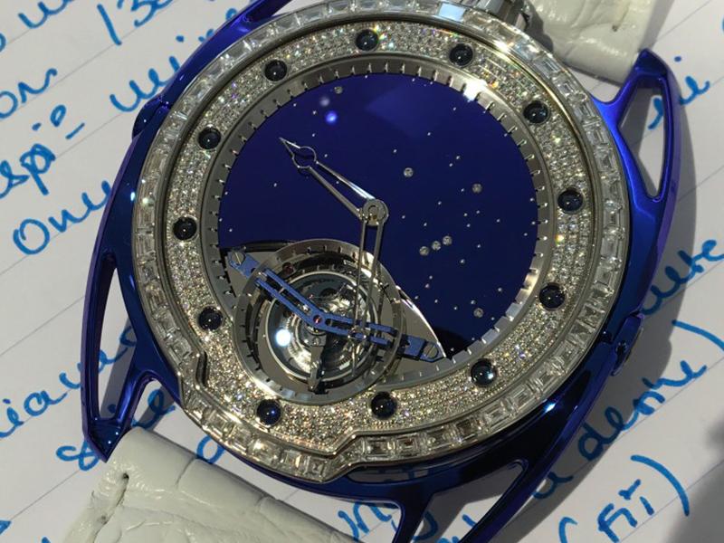 De Bethune DB28 Jewellery watch diamonds