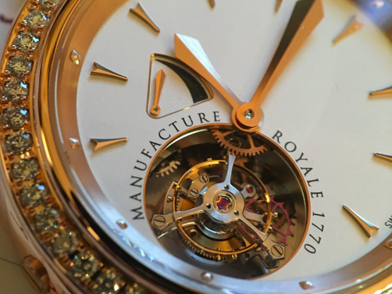 Manufacture Royale 1770 watch
