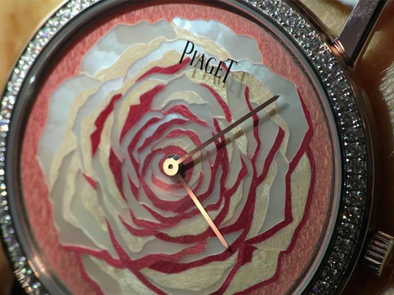 Piaget Rose des Vents woman watch