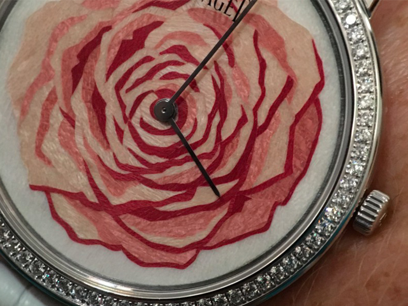 Piaget Rose des Vents watch