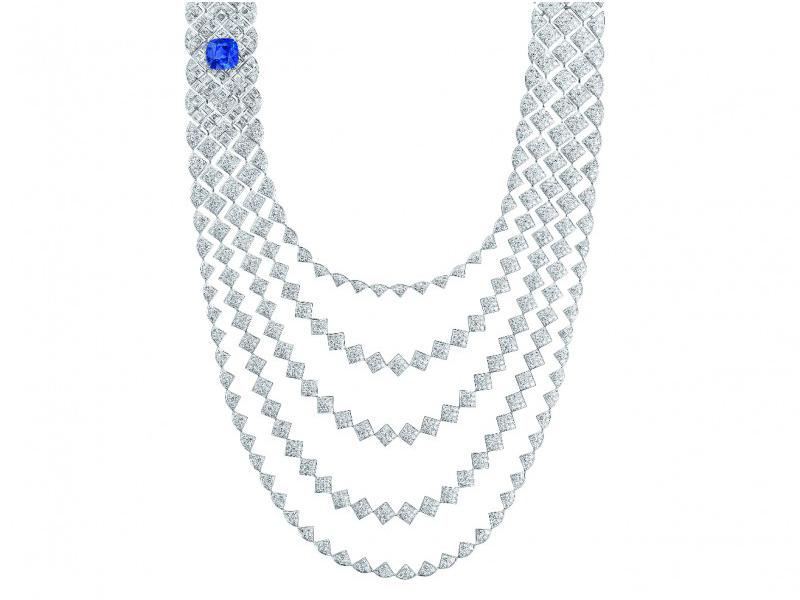 Chanel Signature de Saphir Necklace