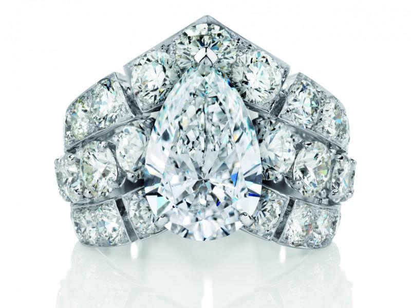 De Beers Phenomena Frost Diamond Ring