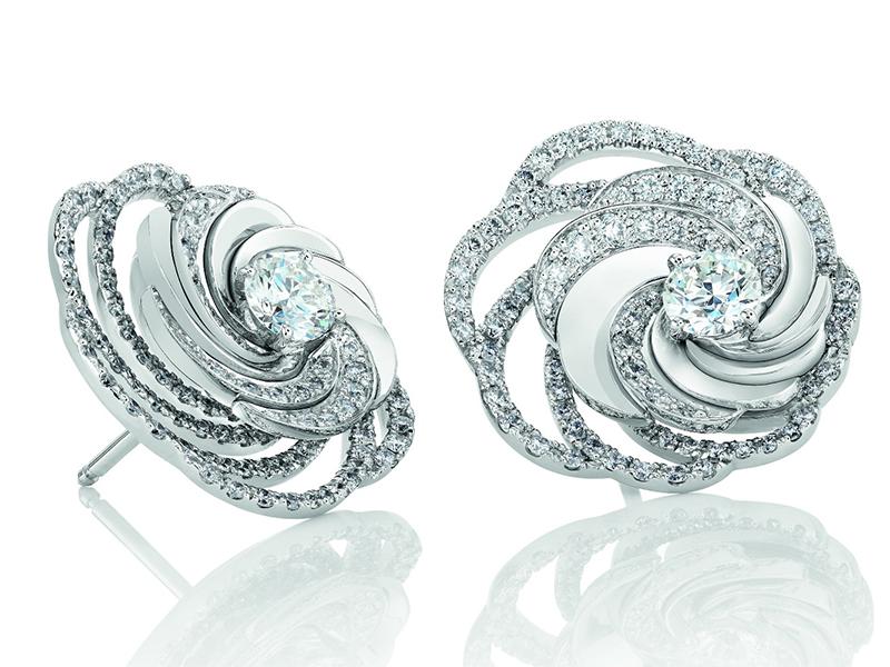 De Beers Diamond Aria Earrings