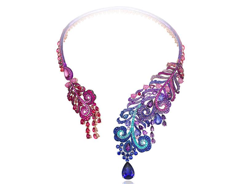 Chopard Haute Joaillerie Necklace - Set on titanium
