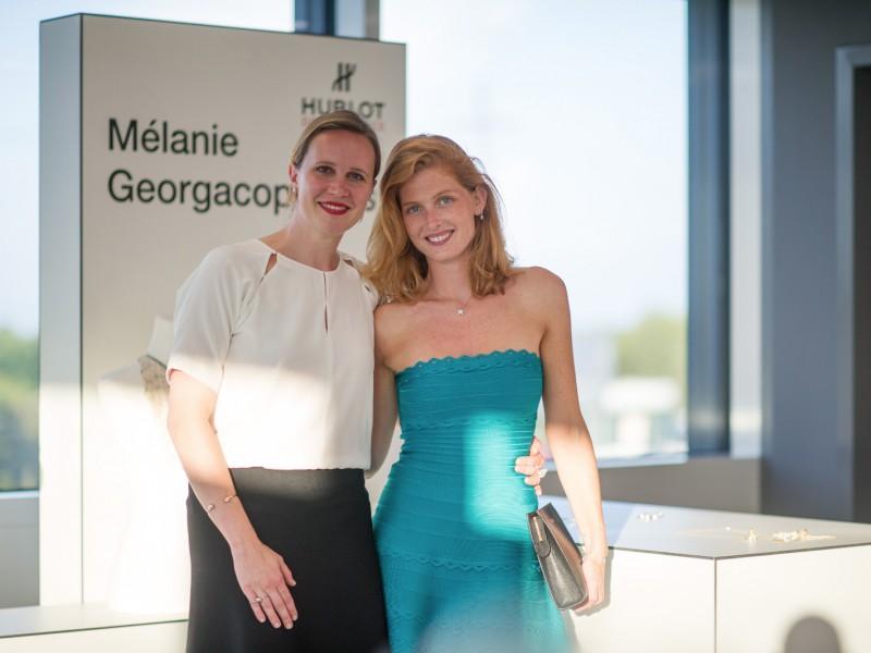 Melanie Georgacopoulos Melanie Georgacopoulos and Eleonor Picciotto - Hublot Design Prize
