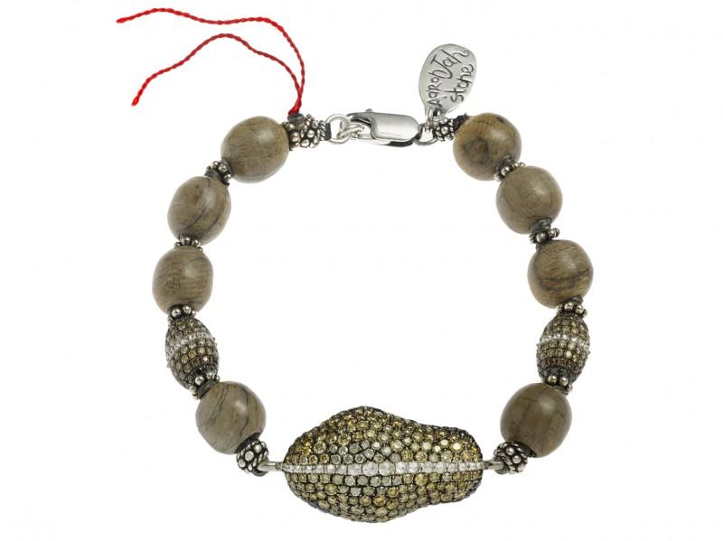 Aaron Jah Stone StingrayMammouth bracelet