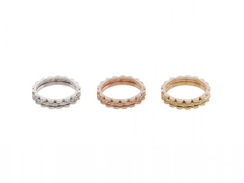 Aude Lechere These rings from Gourmande collection (3 designs) are available at the Pop Up - CHF 1'835