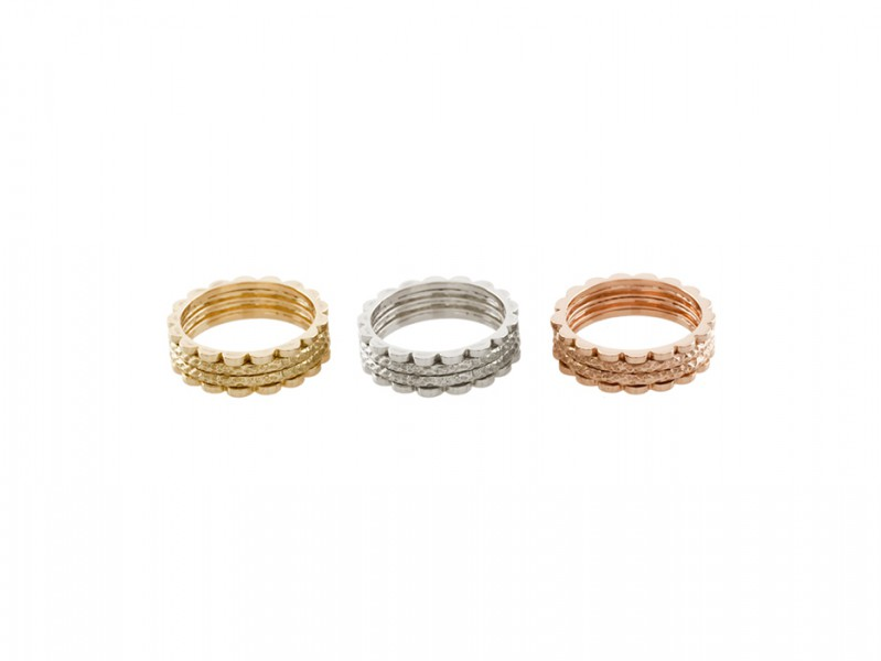 Aude Lechere These rings from Gourmande collection (4 designs) are available at the Pop Up - CHF 2'045