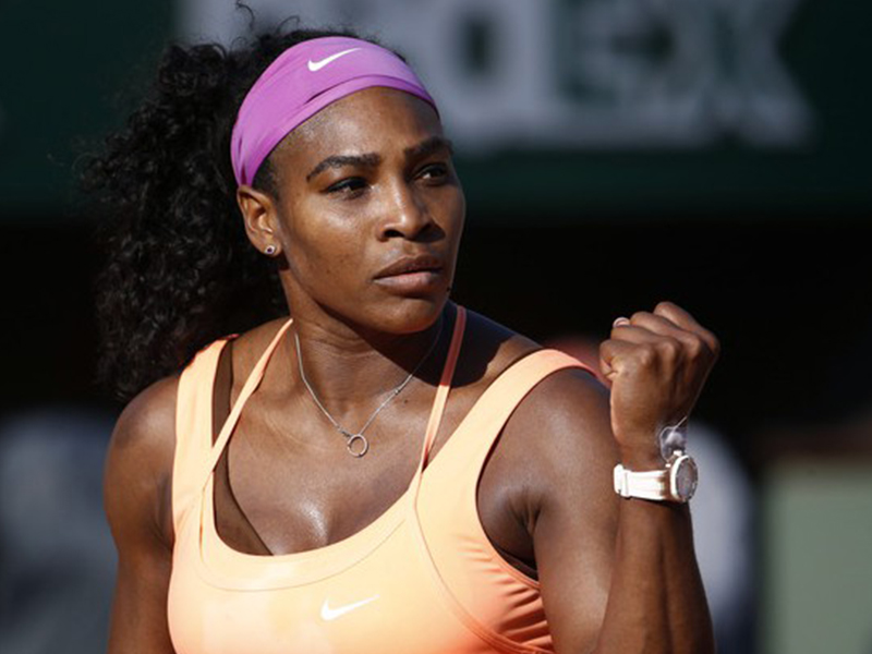 Serena Williams Audemars Piguet Roland Garros 2015