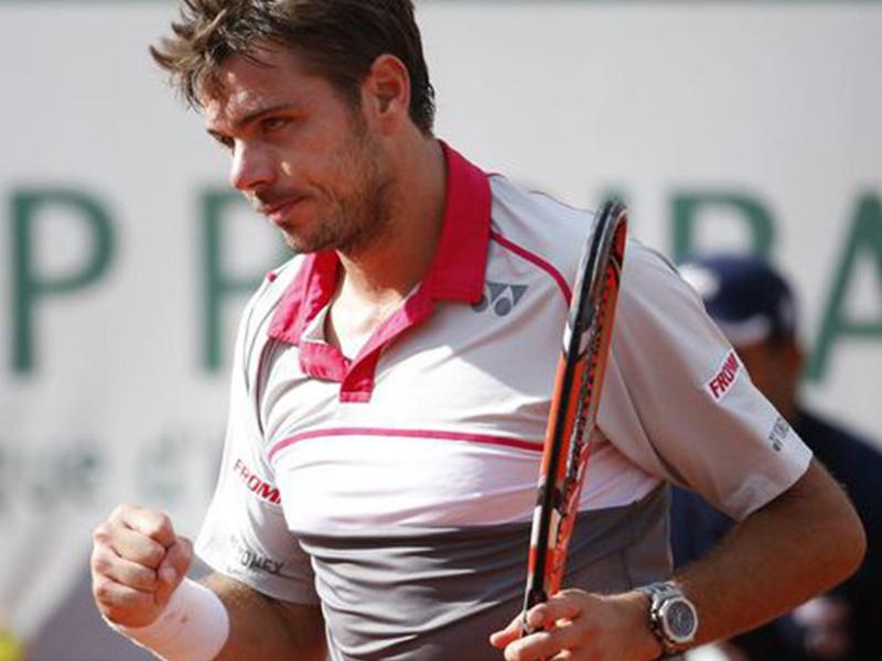 Stanislas Wawrinka Audemars Piguet Roland Garros 2015