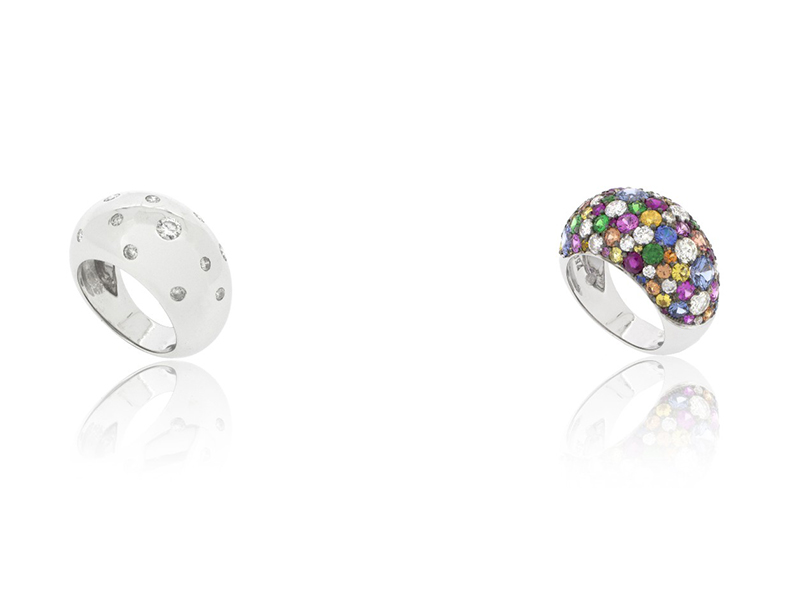 Ring before after bengems colored diamonds