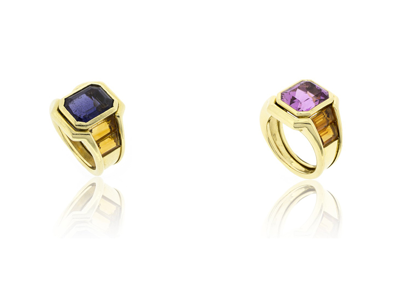 Ring before after bengems yellow gold