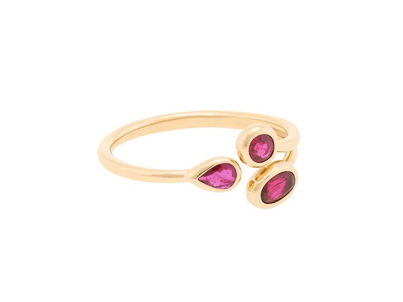 Aya Matusadona gemfields ruby ring ~ £840